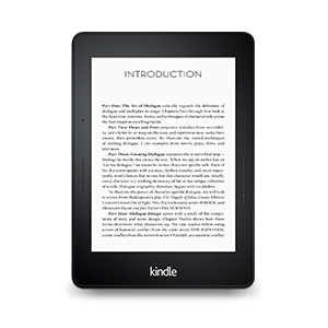 DIALOGUE on Amazon's Kindle
